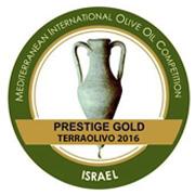 Terraolivo 2016 Tierras de Canena, Prestige Gold